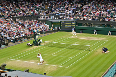 wibledon tennis